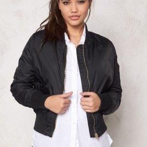 Rut & Circle New Kate Bomber Jacket Black/Gold