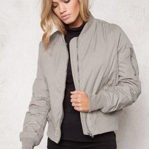 Rut & Circle New Kate Bomber Jacket Grey