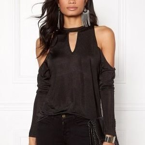 Rut & Circle Nora off shoulder top 001 Black