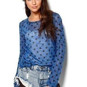 Rut & Circle Price Bea Dot Knit Spicy Blue / Sininen