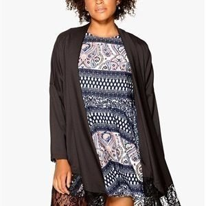 Rut & Circle Price Ellie trench Black