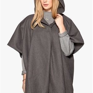 Rut & Circle Price Isabella poncho Grey mel