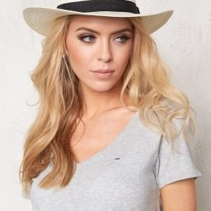 Rut & Circle Price Panama Hat 001 Black