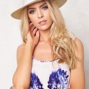 Rut & Circle Price Panama Hat 275 White