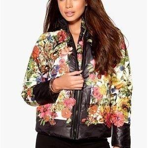 Rut & Circle Price Tulip jacket Black Flower