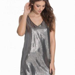 Rut & Circle Sandra Seq Dress Loose Fit Mekko Black