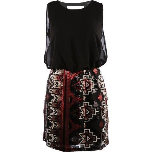 Rut&Circle Judy Dress Black