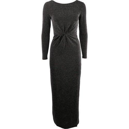 Rut&Circle Kiara dress Black/Silver Long dress