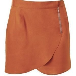 Rut&Circle Must zip skirt Black