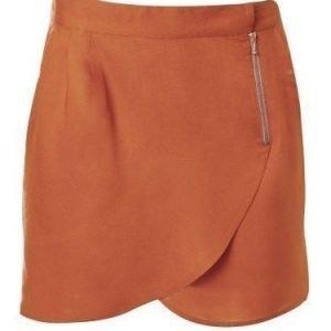 Rut&Circle Must zip skirt Cognac