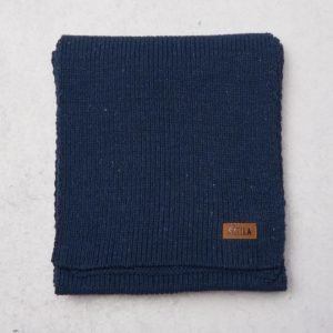 Sätila Recycle Scarf 486 Dark Denim