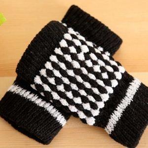 SMS handskar | Fingerlösa vantar