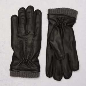 STATE OF WOW Jock Leather Gloves 0099 Black