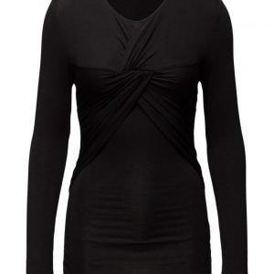 STINE GOYA Bianca 1000 Drapy Jersey pitkähihainen pusero