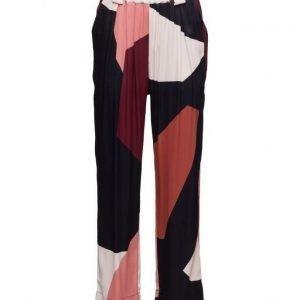 STINE GOYA Vinnie 147 Blocks leveälahkeiset housut