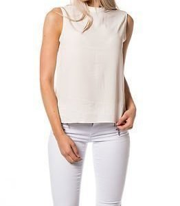 STUDIO Only Smart High Neck Tank Top Soft Pink