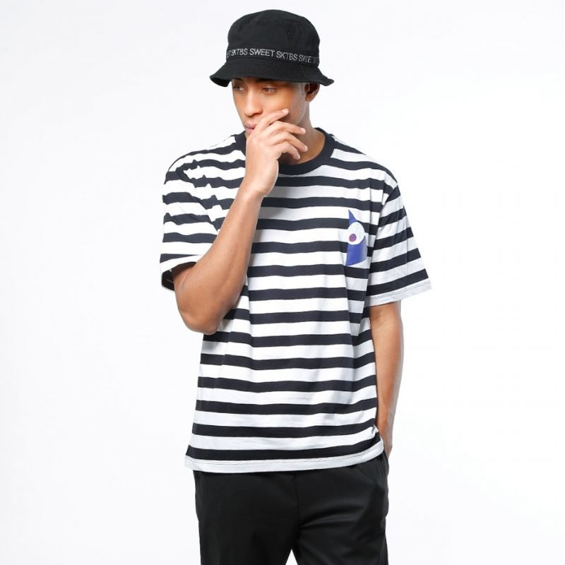 SWEET DENIM Albus Stripe -t-paita