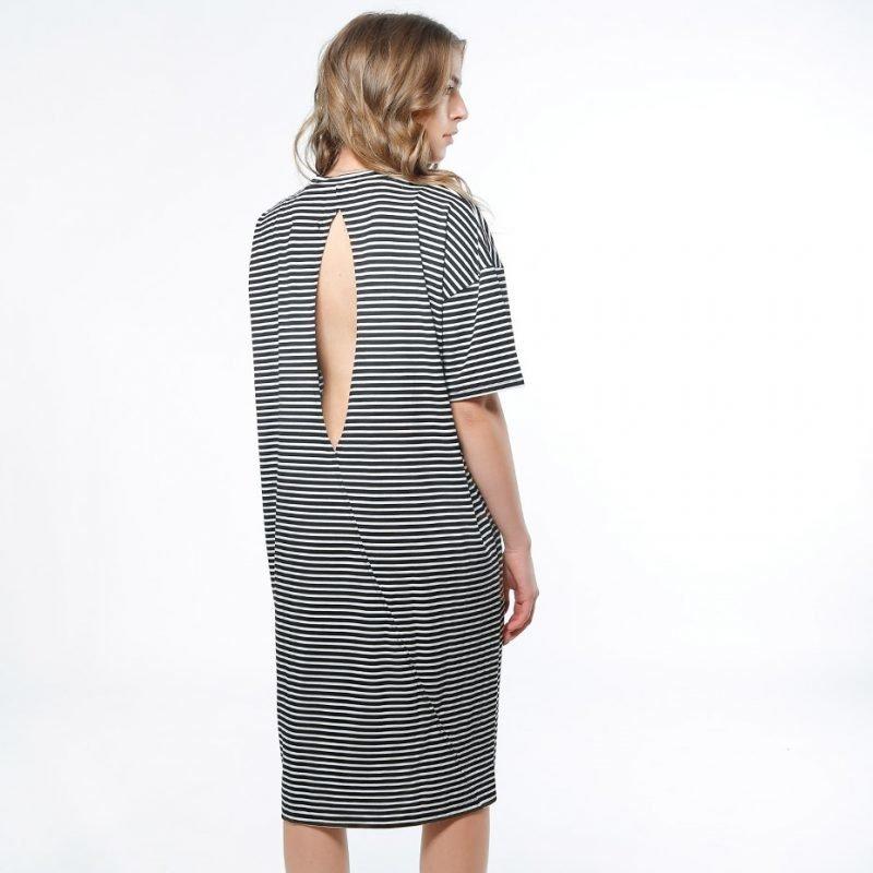 SWEET DENIM Gingsta Stripe -mekko