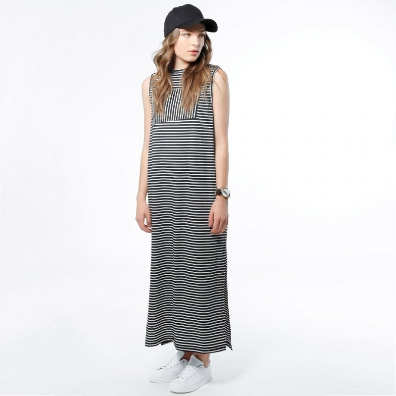 SWEET DENIM Zulu Stripe -mekko
