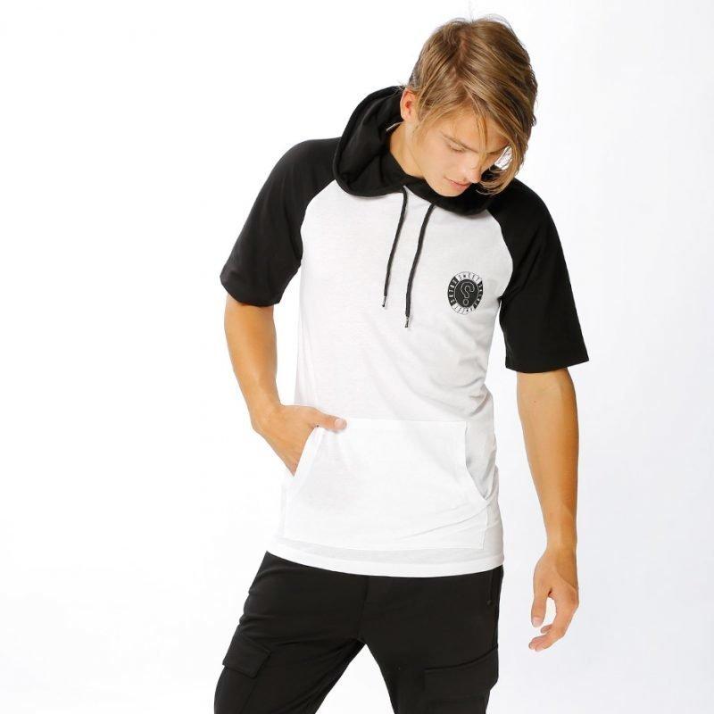 SWEET SKTBS Haglan Hooded Circle -t-paita
