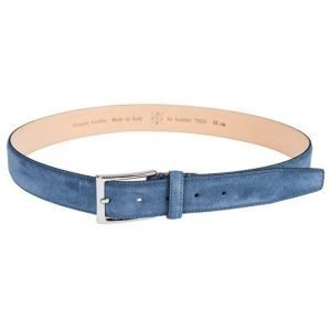 Saddler 78515 Suede Belt Blue