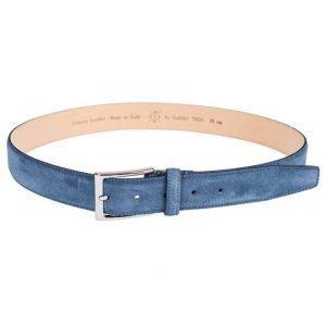 Saddler 78515 Suede Belt Blue
