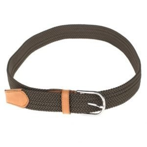 Saddler 78575 Belt Green/Tan