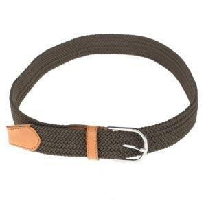 Saddler 78575 Belt Green/Tan
