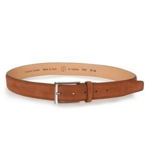 Saddler Suede belt Brown