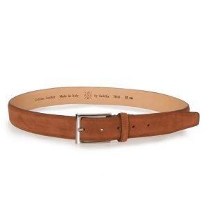 Saddler Suede belt Brown