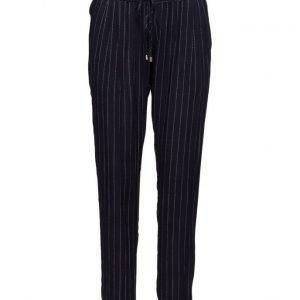 Saint Tropez Casual Striped Pants suorat housut