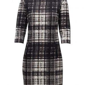 Saint Tropez Check Print Jersey Dress lyhyt mekko