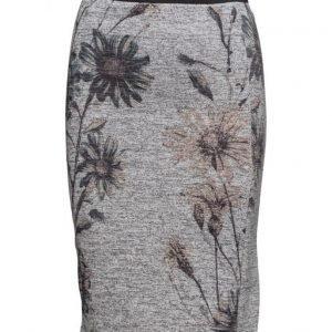 Saint Tropez Daisy Print Jersey Skirt kynähame