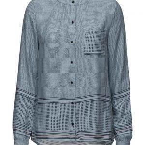 Saint Tropez Dotty Printed Shirt pitkähihainen pusero
