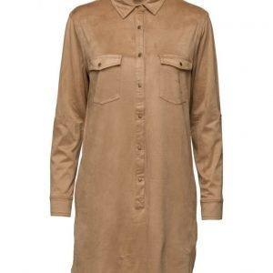 Saint Tropez Faux Suede Dress W Pockets lyhyt mekko