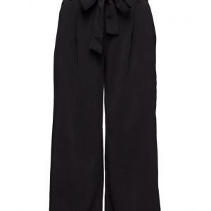 Saint Tropez Flared Cropped Pants leveälahkeiset housut