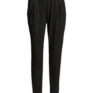 Saint Tropez Glitter Jersey Pants casual housut