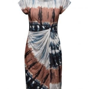Saint Tropez Jersey Knot Dress W Print mekko