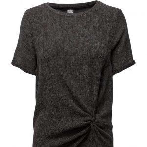 Saint Tropez Jersey T-Shirt W Knot Detail