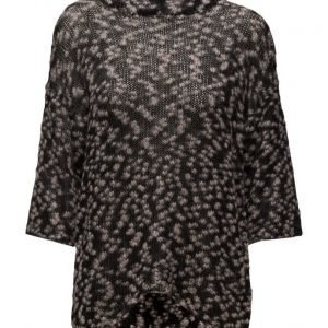 Saint Tropez Knit Blouse With Lurex Pattern neulepusero