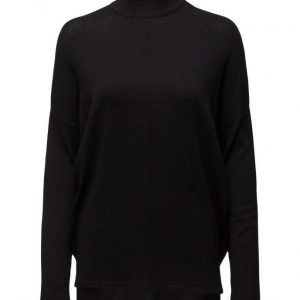 Saint Tropez Knit Blouse With Slits At Side poolopaita