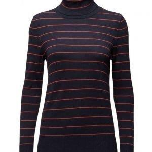 Saint Tropez Knit Blouse With Stripes poolopaita