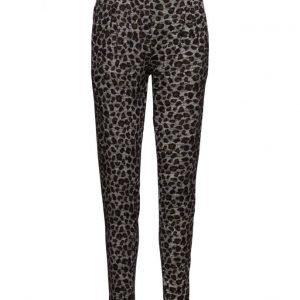 Saint Tropez Leopard Print Pants casual housut