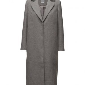 Saint Tropez Long Wool Blend Coat villakangastakki