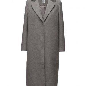 Saint Tropez Long Wool Blend Coat villakangastakki