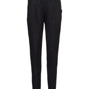 Saint Tropez Printed Shimmer Pants suorat housut
