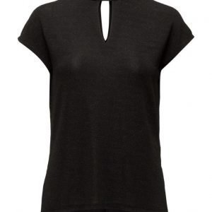 Saint Tropez Printed Shimmer T-Shirt lyhythihainen pusero