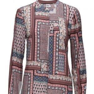 Saint Tropez Printed Shirt pitkähihainen pusero