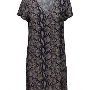 Saint Tropez Snake Print Dress lyhyt mekko