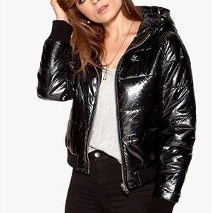 Sally & Circle Must Ria jacket Musta/hopeanvärinen